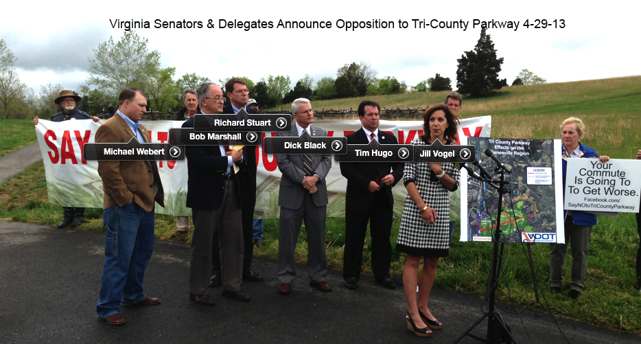 Elected Officials Oppose TCP